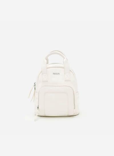 Balo Mini BAC 0083 - Màu Trắng