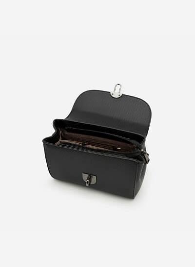 Túi Đeo Chéo SHO 0047 - Màu Đen - VASCARA