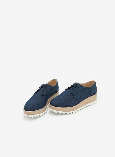 Giày Sneaker SNK 0005 - Màu Xanh Navy - vascara.com
