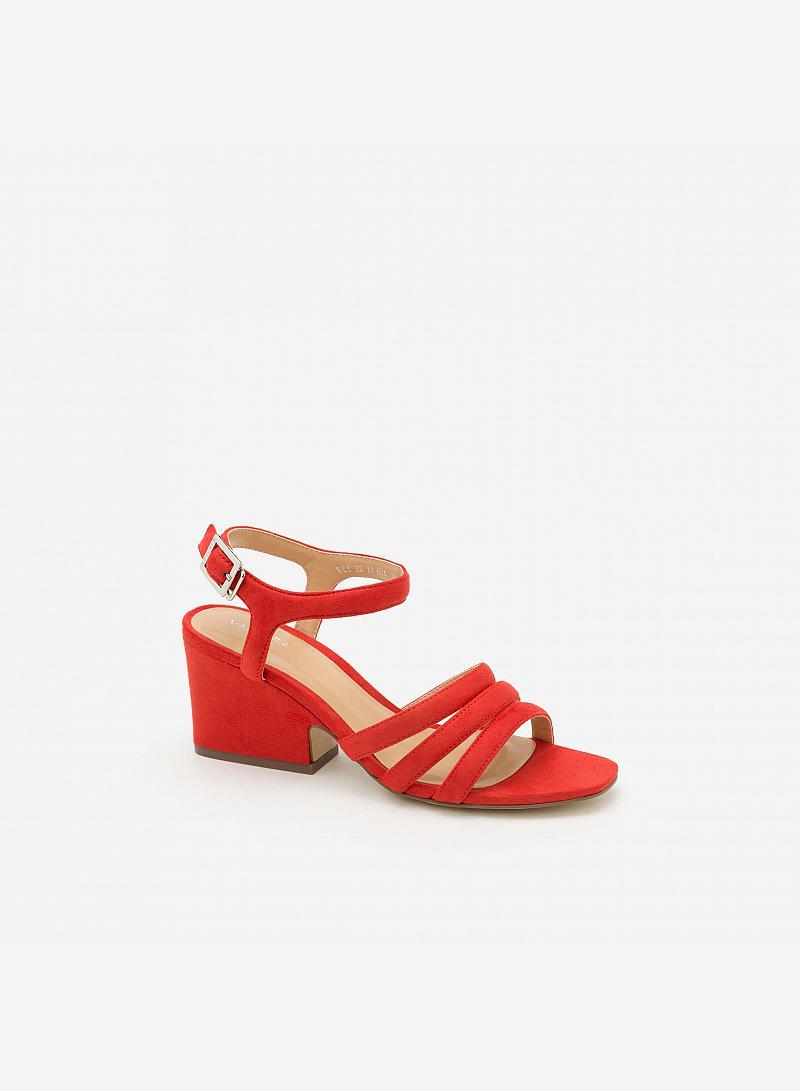 Giày Cao Gót SDN 0599 - Màu Đỏ - vascara