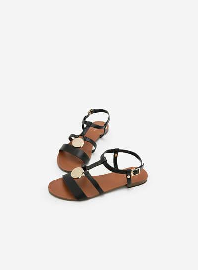 Giày Sandal Đế Bệt SDK 0273 - Màu Đen