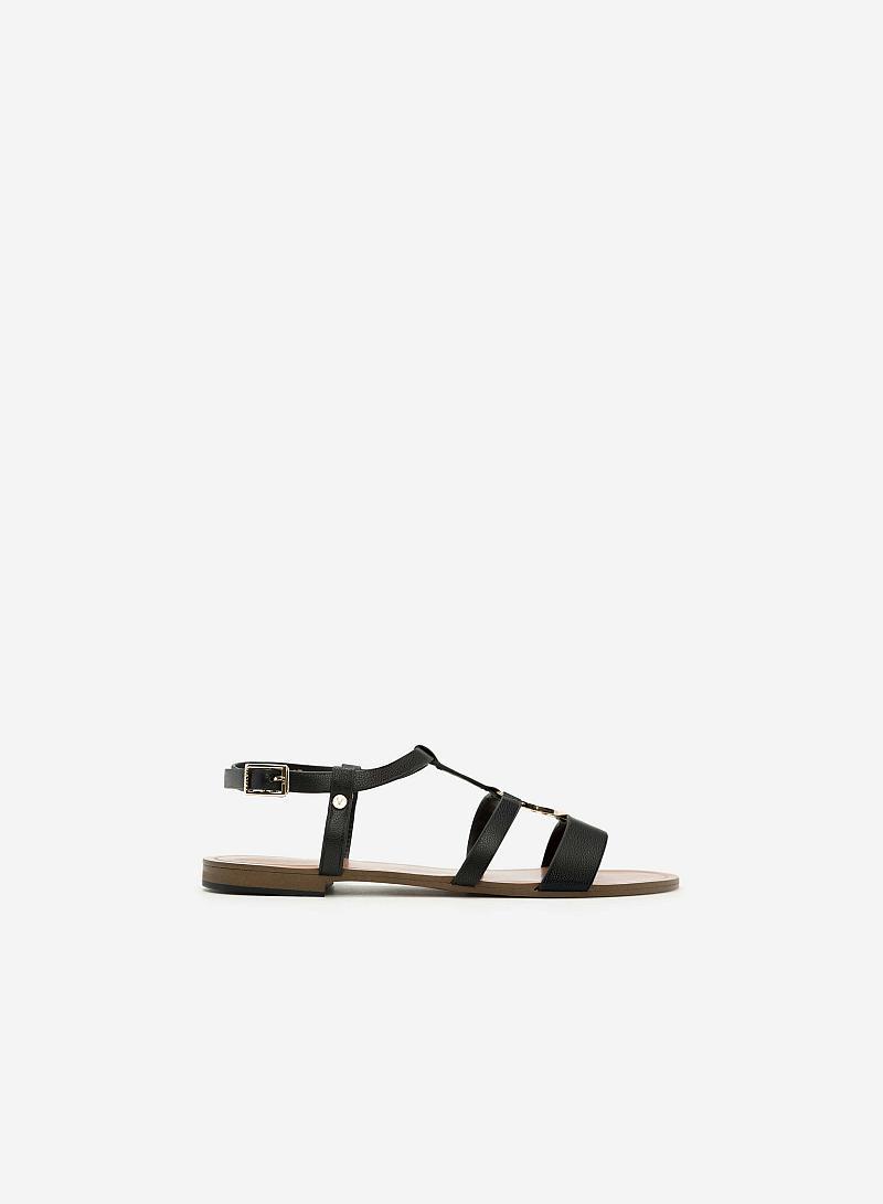 Giày Sandal Đế Bệt SDK 0273 - Màu Đen - vascara