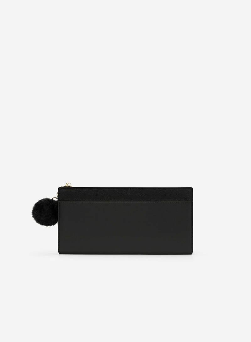 Ví Cầm Tay Dáng Dài - WAL 0160 - Màu Đen - vascara