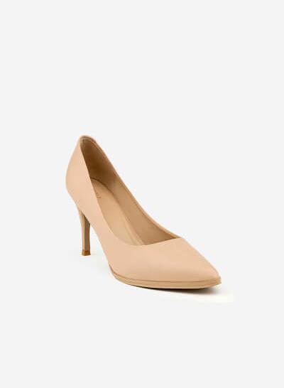 Giày Cao Gót BMN 0224 - Màu Be - vascara