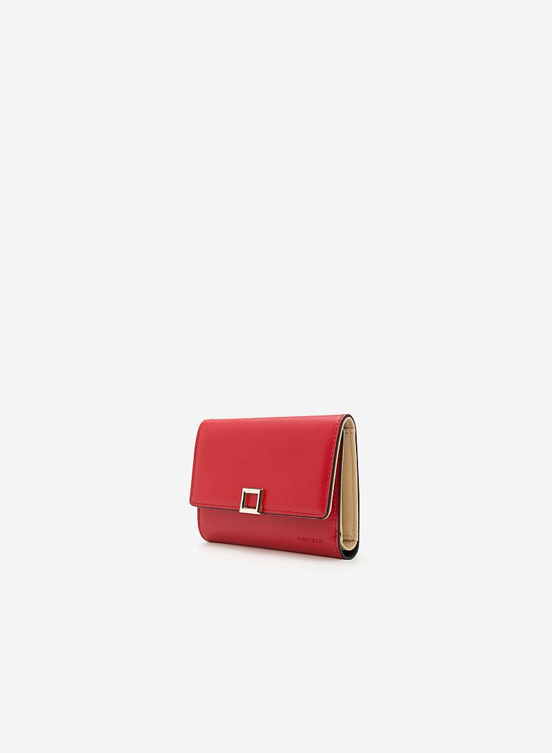 Ví Cầm Tay WAL 0133 - Màu Đỏ - vascara
