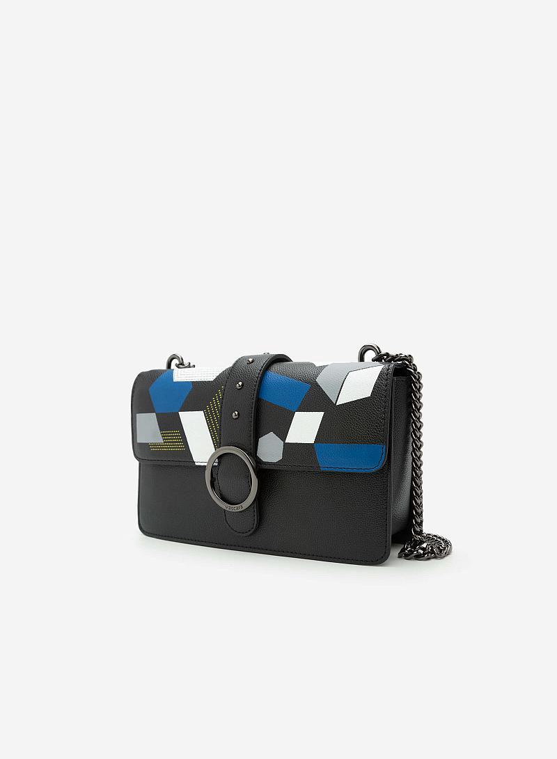 Túi Đeo Chéo SHO 0093 - Màu Đen