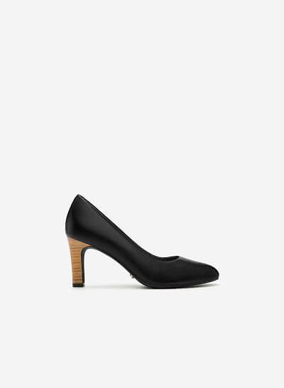 Giày Cao Gót BMT 0435 - Màu Đen