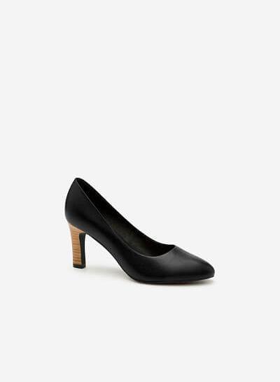 Giày Cao Gót BMT 0435 - Màu Đen - vascara