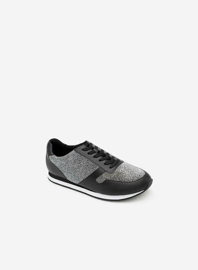 Giày Sneaker SNK 0001 - Màu Bạc - vascara