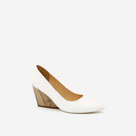 Giày Cao Gót BMN 0259 - Màu Trắng