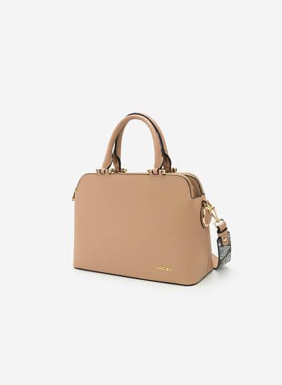 Túi xách tay SAT 0153 - Màu Be
