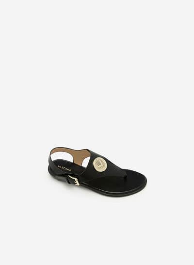 Giày Sandal Đế Bệt SDK 0275 - Màu Đen
