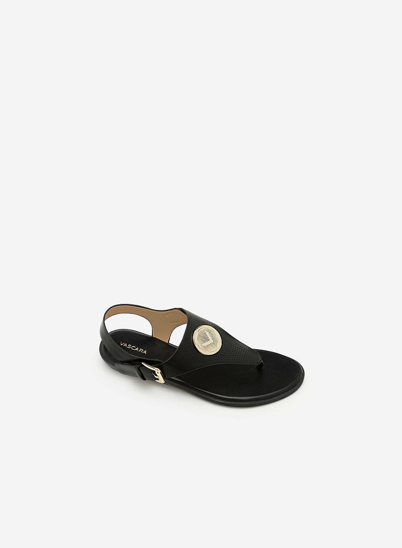 Giày Sandal Đế Bệt SDK 0275 - Màu Đen - VASCARA