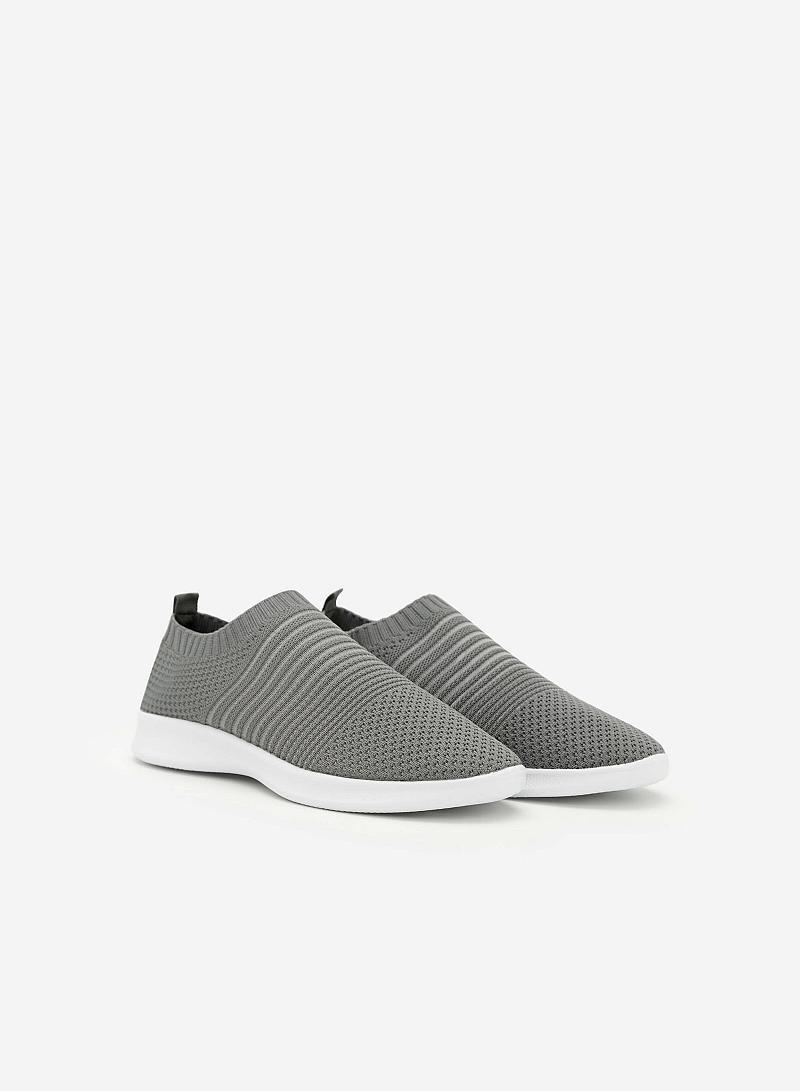 Giày Sneaker SNK 0010 - Màu Xám Đậm - VASCARA