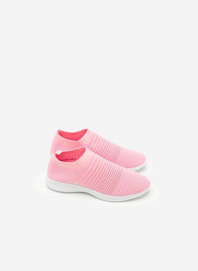 Giày Sneaker SNK 0010 - Màu Hồng