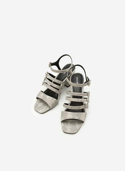 Giày Sandal Chiến Binh -  Màu Xám - SDN 0607 - VASCARA