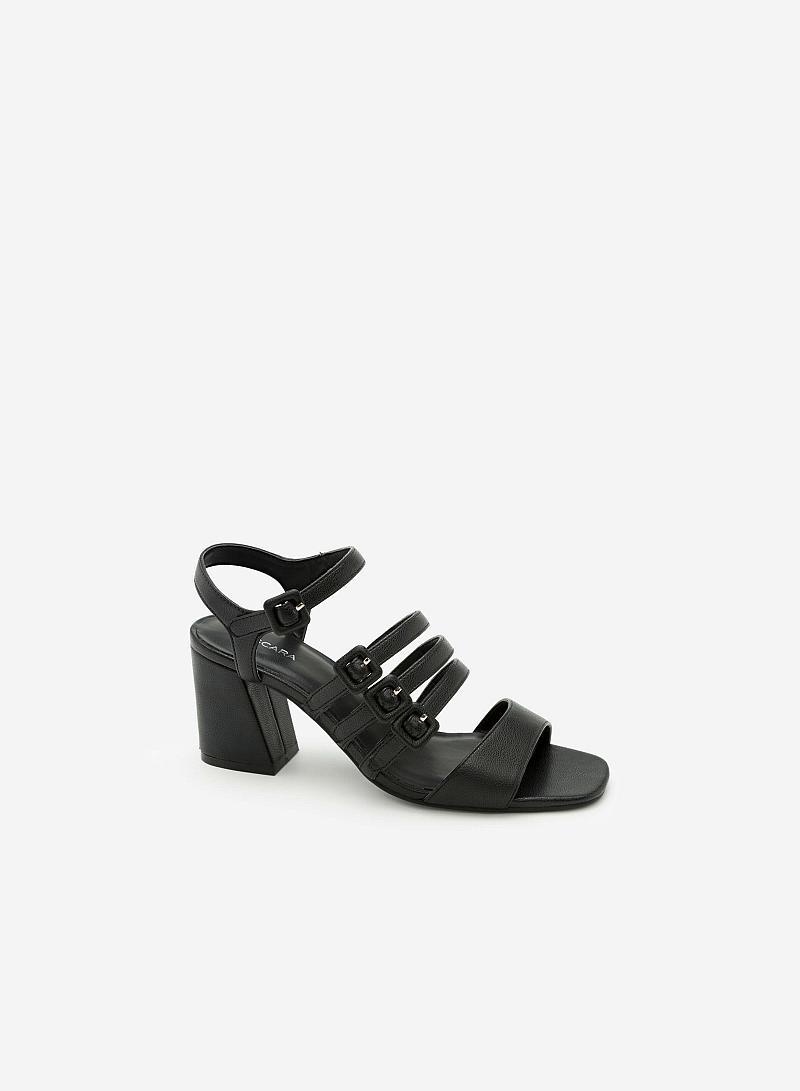 Giày Sandal Chiến Binh -  Màu Đen - SDN 0607 - VASCARA