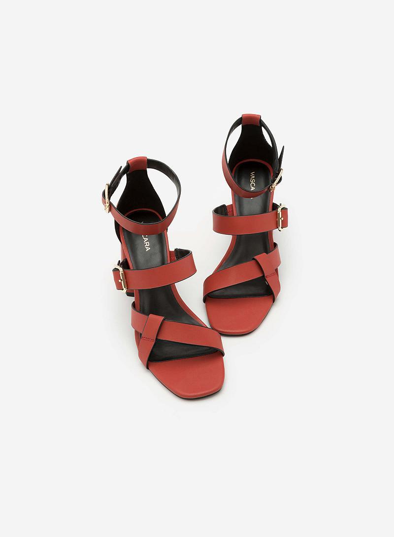 Giày Cao Gót SDN 0603 - Màu Đỏ Đậm - vascara