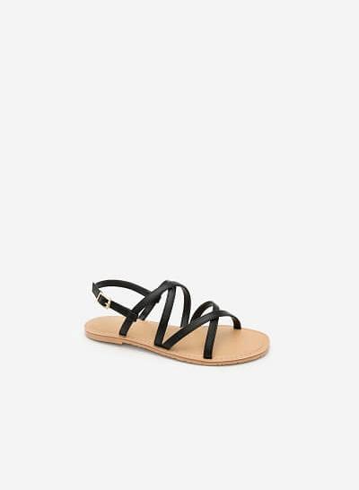 Xem sản phẩm Giày Sandal Đế Bệt SDK 0281 - Màu Đen