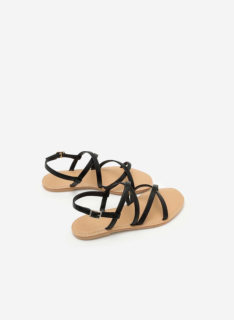 Giày Sandal Đế Bệt SDK 0281 - Màu Đen - vascara