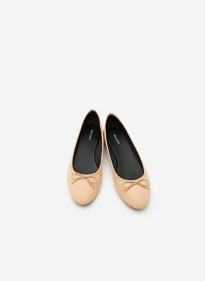 Giày Búp Bê GBB 0401 - Màu Be - VASCARA