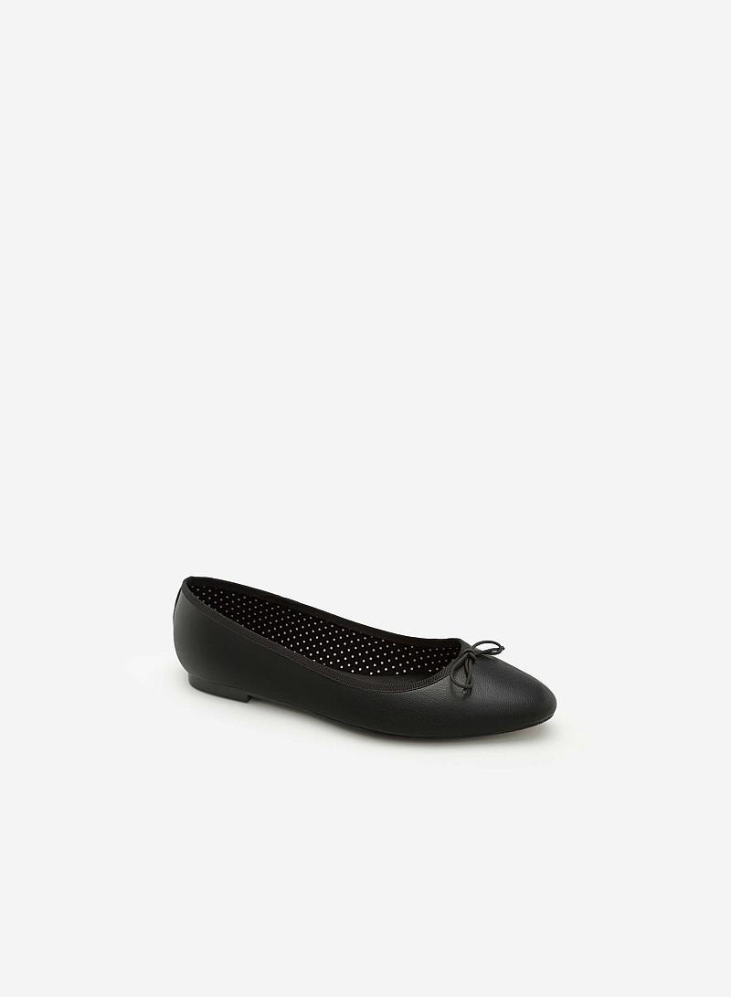 Giày Búp Bê GBB 0401 - Màu Đen - vascara