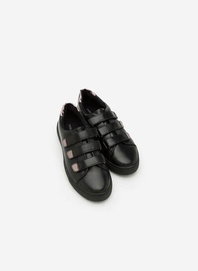 Giày Sneaker SNK 0008 - Màu Đen - VASCARA