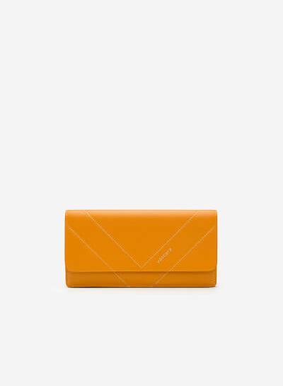 Xem sản phẩm Ví Cầm Tay WAL 0148 - Màu Vàng Đậm