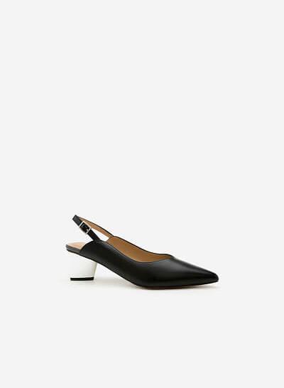 Giày Cao Gót BMN 0279 - Màu Đen
