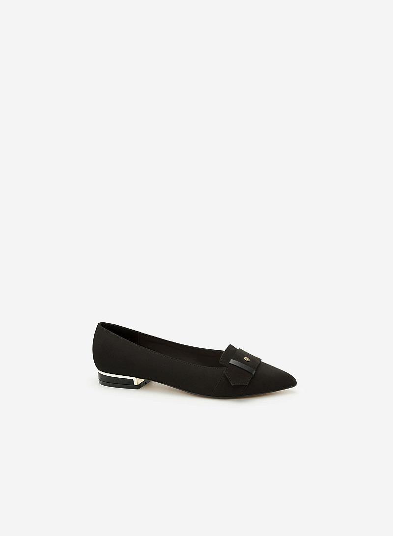 Giày Bít Gót Vuông BMN 0294 - Màu Đen - VASCARA