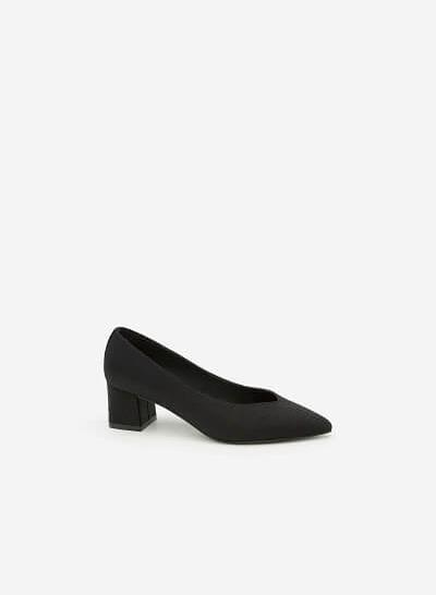 Giày Cao Gót BMN 0290 - Màu Đen