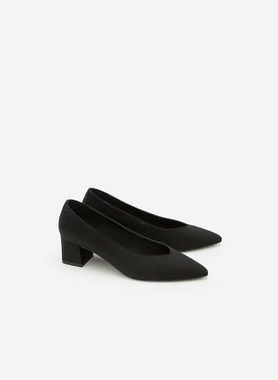 Giày Cao Gót BMN 0290 - Màu Đen - VASCARA