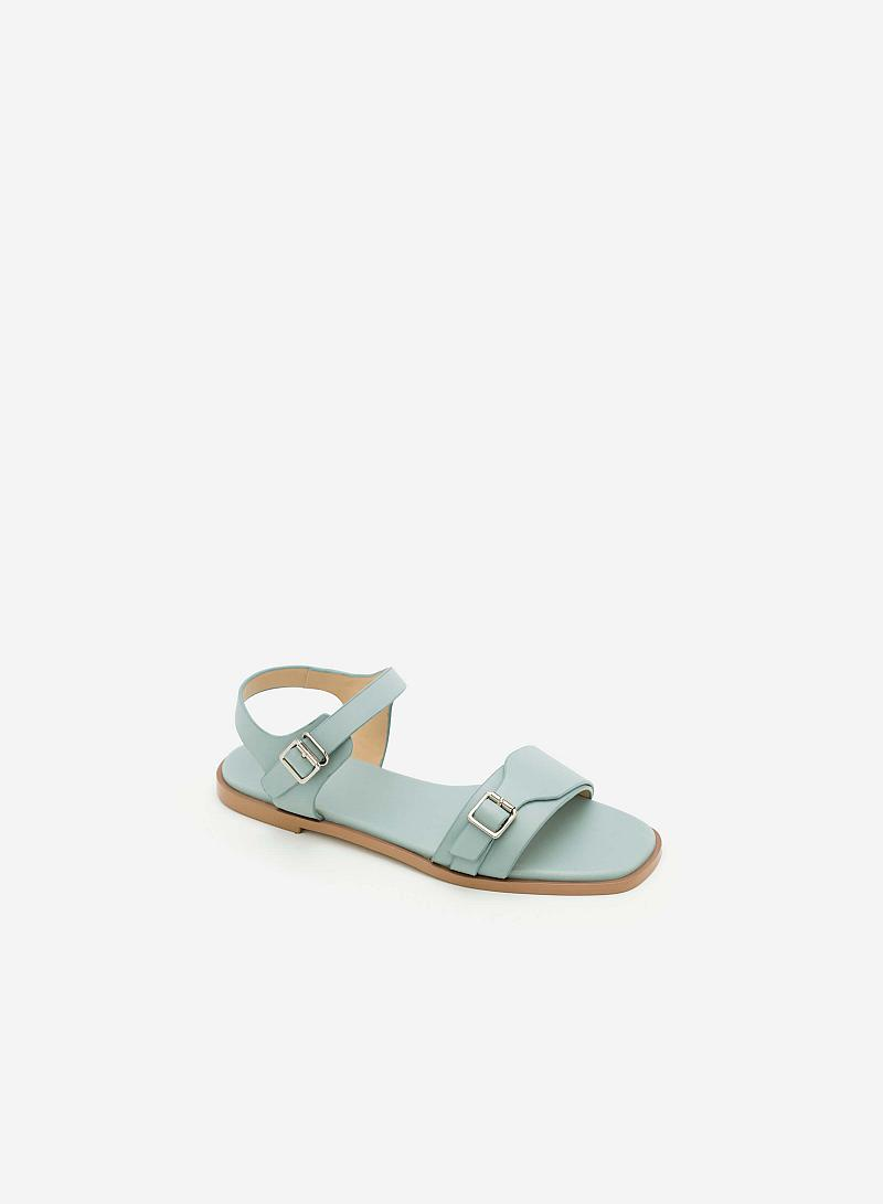 Giày Sandal Đế Bệt SDK 0270 - Màu Xanh Da Trời - vascara