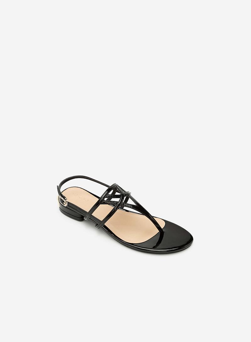 Giày Sandal Đế Bệt SDK 0264 - Màu Đen - vascara
