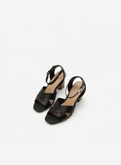 Giày Cao Gót SDN 0582 - Màu Đen - VASCARA