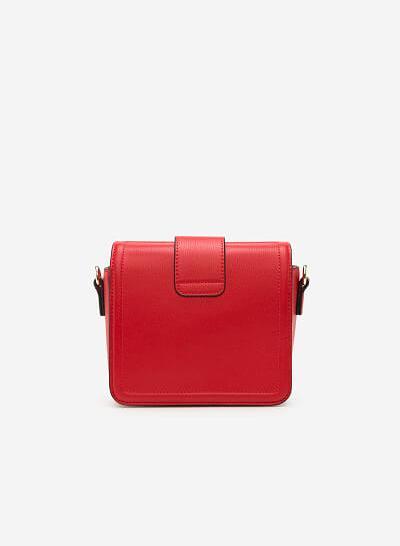 Túi Đeo Chéo SHO 0094 - Màu Đỏ - vascara