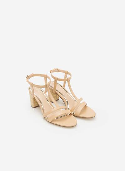 Giày Cao Gót SDN 0585 - Màu Be - VASCARA