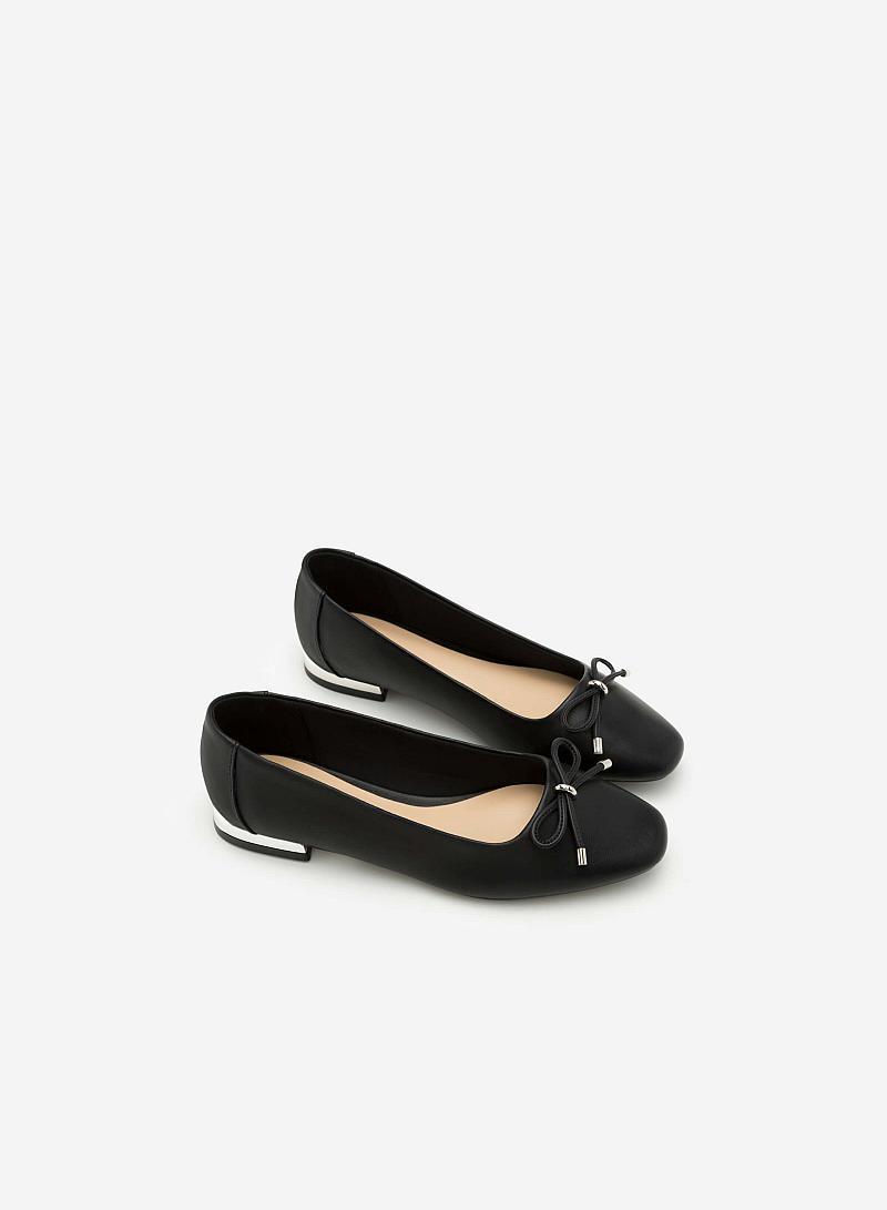 Giày Búp Bê GBB 0398 - Màu Đen - vascara