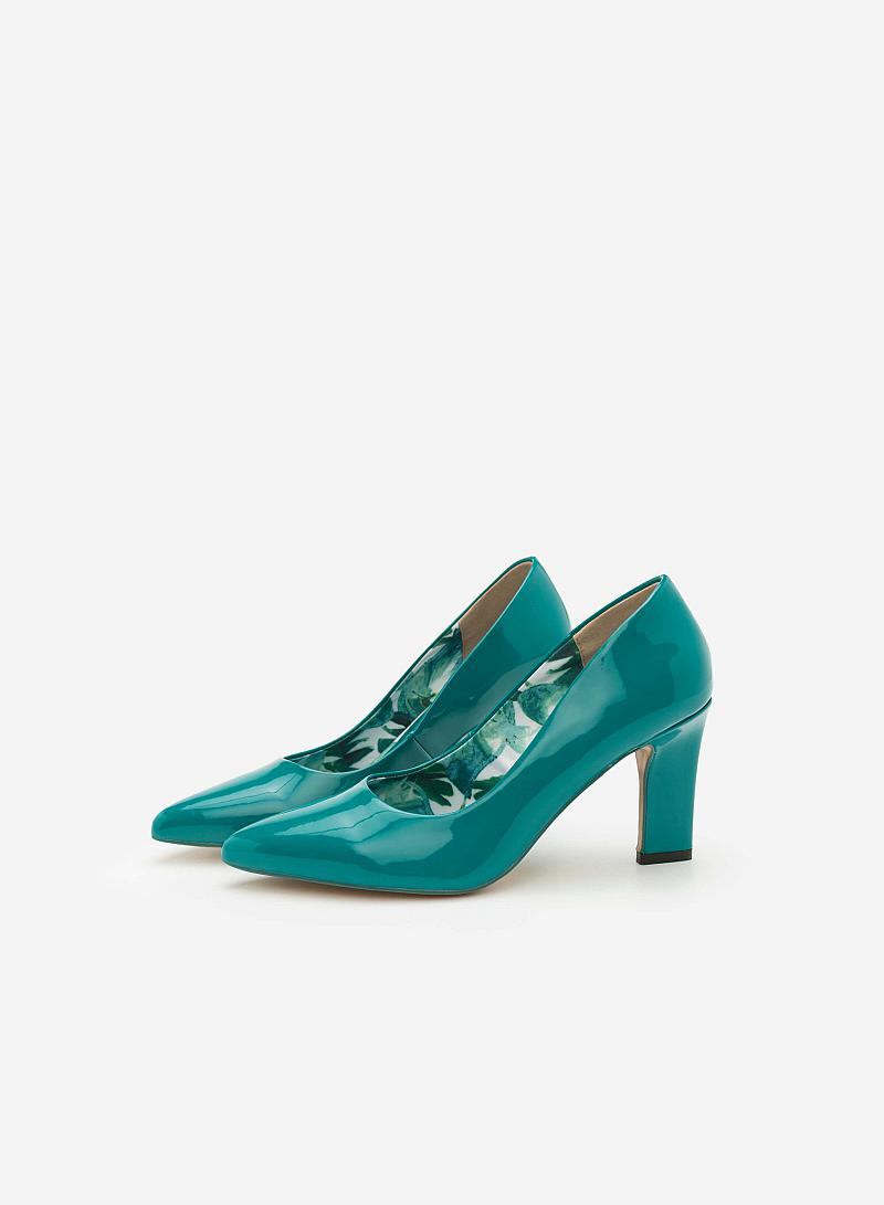 Giày Cao Gót BMN 0271 - Màu Xanh Cổ Vịt - vascara