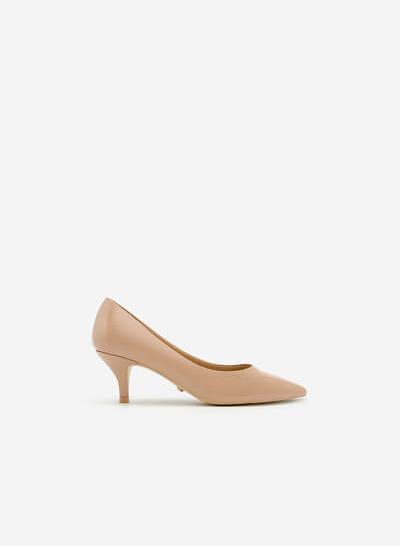 Giày Bít Gót Nhọn BMN 0266 - Màu Be