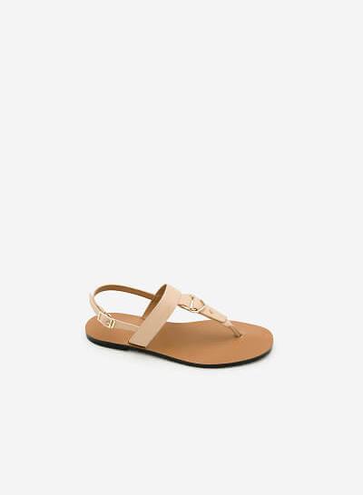 Giày Sandal Đế Bệt SDK 0276 - Màu Be - vascara.com