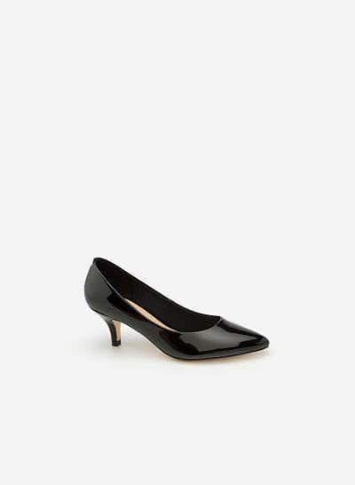 Giày Bít Gót Nhọn BMN 0266 - Màu Đen - VASCARA