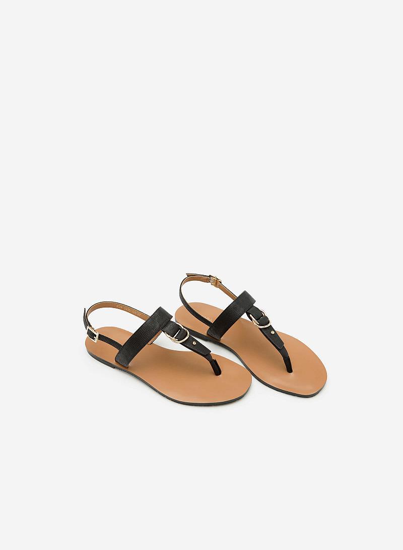 Giày Sandal Đế Bệt SDK 0276 - Màu Đen - vascara