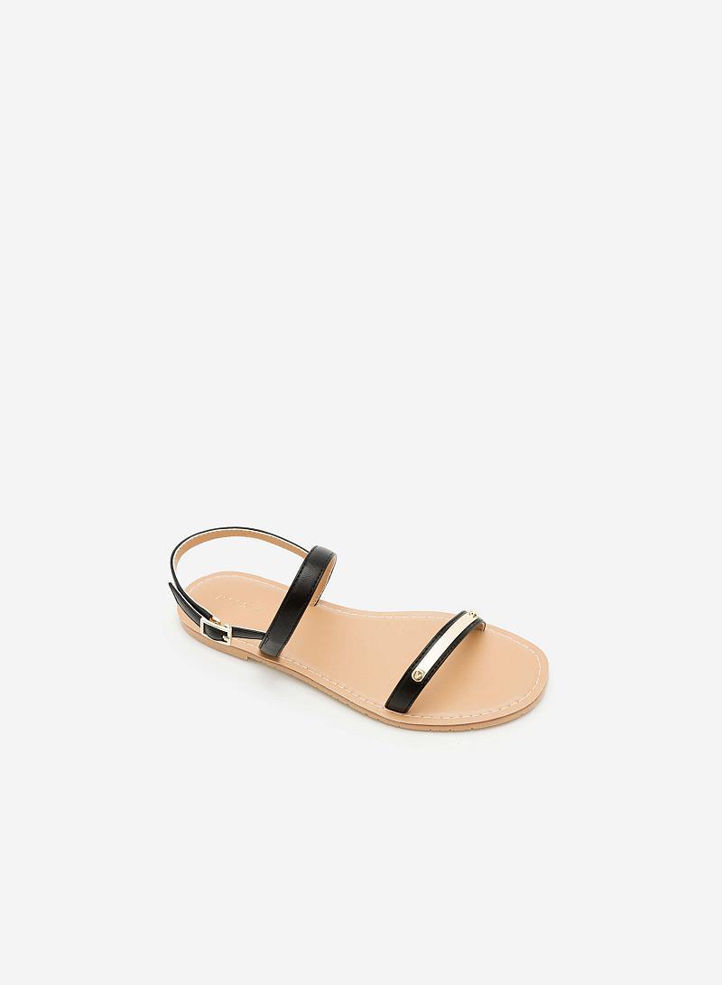Giày Sandal Đế Bệt SDK 0267 - Màu Đen - VASCARA