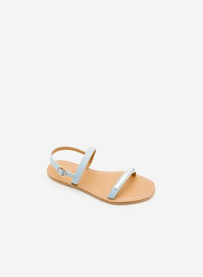 Giày Sandal Đế Bệt SDK 0267 - Màu Xanh Da Trời - vascara.com