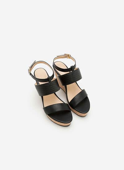 Giày Cao Gót SDX 0400 - Màu Đen - VASCARA