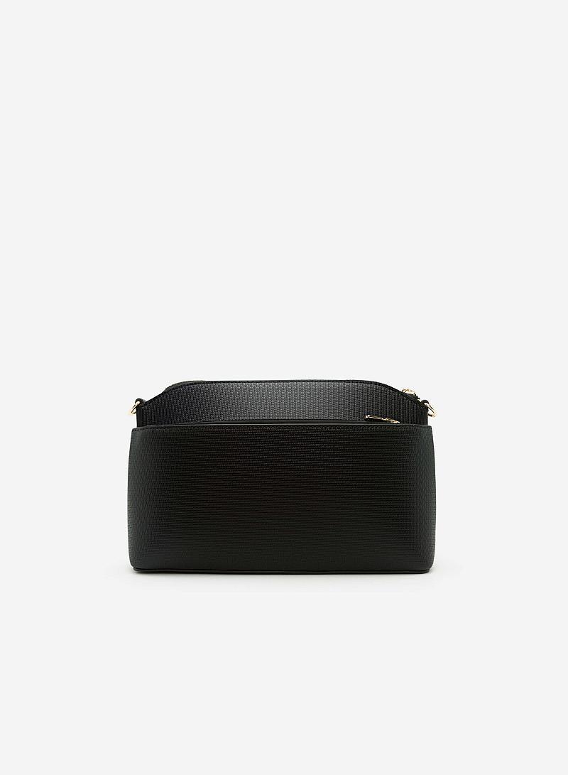 Túi Đeo Chéo SHO 0098 - Màu Đen - vascara