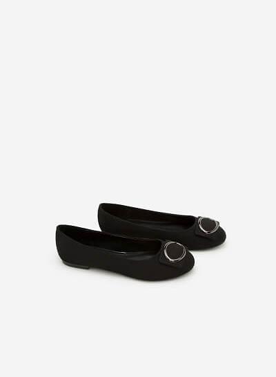 Giày Búp Bê GBB 0400 - Màu Đen