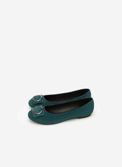 Giày Búp Bê GBB 0400 - Màu Xanh Cổ Vịt - VASCARA