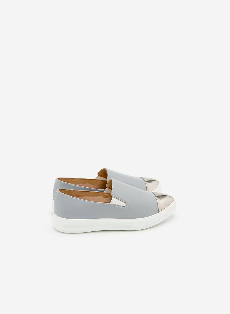 Giày Sneaker SNK 0007 - Màu Xám Nhạt - vascara